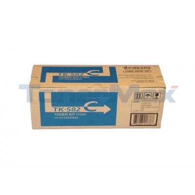 KYOCERA MITA FS-C5150DN TONER KIT CYAN